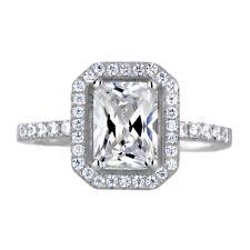 Pear Shape Diamond Engagement Ring 2.02 Carat EGLUS Certified 18k White Gold