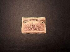 Us Stamp Scott# 231 Landing of Columbus 1893 Mh C350
