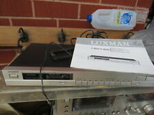 LUXMAN T-404L AM FM Stereo Tuner