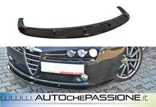 Spoiler/Splitter anteriore lama Alfa Romeo 159 V2 nuova ABS lip sotto paraurti
