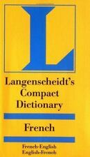 Compact Dictionaries: Compact Dictionary : French by Langenscheidt