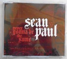 SEAN PAUL ~ Never Gonna Be The Same ~ CD SINGLE