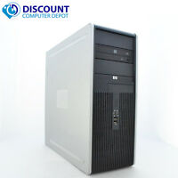 HP DC Desktop PC Computer Tower Windows 10 Intel 1.8GHz 4GB 1TB