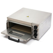 Electric Pizza Oven Single Deck Bread Toasterindependent Temperature Control Us