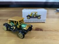 """1910 Ford Model T Diecast Toy Car Green Tan Readers Digest No. 304 in Box 2.5"""""""