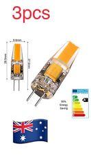 3pcs G4 Led 3W AC DC 12V LED COB Lampe  Warm White Light Bulbs