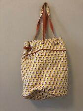 Vtg. YELLOW American Eagle OUTFITTERS Tote Bag Purse