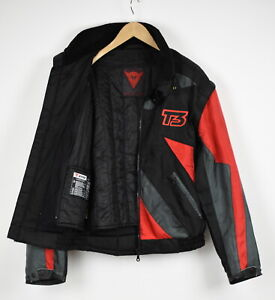 DAINESE Men's (EU) 50 or ~LARGE Removable Sleeves Motorcycle Jacket 34058-GS