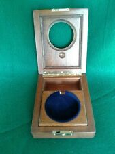 Ships chronometer Hamilton 36 size mounting box