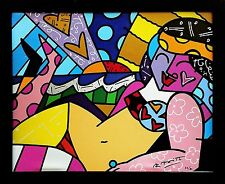 "ROMERO BRITTO ""UNKNOWN (BEACH)"" 