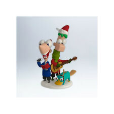 Perry Christmas! 2012 HALLMARK Ornament  Disney Phineas and Ferb  Perry Singing