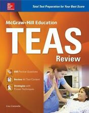 McGraw-Hill Education TEAS Review Cantarella, Cara VeryGood