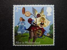 GB 2015 Alice in Wonderland 2nd class White Rabbit stamp MNH S.G. 3658