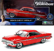 Chevy Impala Fast & Furious Dom Chevrolet F8 and Rot Red 1:24 Jada Toys 98426