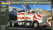 """Revell Marmon Conventional """" Stars and Stripes """" American Model Truck Kit #07429"""