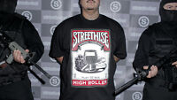 STREETWISE HIGH ROLLER T-shirt Play To Win Tee Winning Adult Men Black NWT