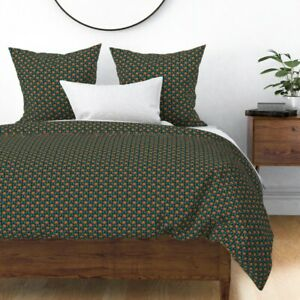 Flower Florals Sateen Duvet Cover by Roostery