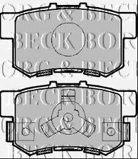 BORG & BECK BBP1985 REAR BRAKE PADS fit Honda CR-V II / FR-V 05-