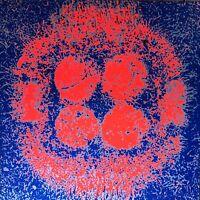 Gräsel Friedrich sérigraphie signée 1970 Grasel Graesel sculpture architecture