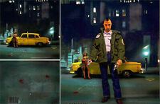 POSTER BACKDROP SHIPS ROLLED~TAXI DRIVER~FOR BROTHER 1/6 FIGURE ROBERT DE NIRO