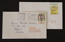 Australia 2x test Cricket solo commercial covers memorabilia