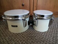 """Vintage Sonor bongos drums 6"""" + 8"""" , Made in Germany 1970's"""