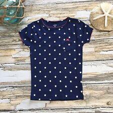 Carters Star T-Shirt 5T Girls Patriotic  Sleepwear PJ Top USA RWB