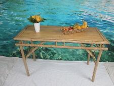 Gartentisch,Klapptisch,Terrassentisch,Holztisch,Bambustisch,Anrichte