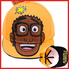 Yo Gabba Gabba DJ Lance Snap Back Hat Trucker Flat Bill Cap Hat Teen Adults
