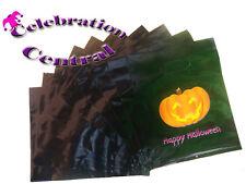 Naranja Halloween Trick Or Treat Partido Bolsas caramelo dulce botín Bolsa Porta /& Tejido