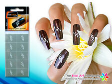 SmART-Nails - The Swimmer Nail Art Stencils N051 Professional Nail Product