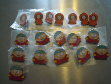 LOTTO 18 SPILLE SOUTH PARK METALLO SMALTATO COMEDY CENTRAL PIN BADGE JOBLOT