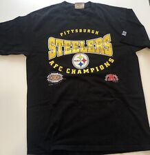 Vintage Steelers XXX Super Bowl 1996  AFC Champions T Shirt Size Large