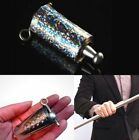 Magic Tricks Appearing Cane Silver Metal Stage Close Up Illusion SILK TO WAND ✿