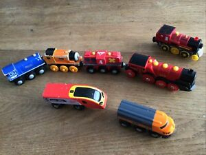 BRIO Mighty Red 529 Action Locomotive Battery Operated Motorised Train 33592