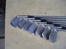 "Left-Handed -1"" Wilson Sam Snead Blue Ridge Golf Club Iron Set w Leather Grips"