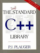 Draft Standard C++ Library, The Plauger, P. J. Textbook Binding