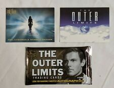 The Outer Limits 2003 Sex Cyborgs Science-Fiction P1 P2 + 1 Sealed Pack