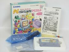 PC COLLECTION Mouse Set Unused Ref 0541 CASIO LOOPY Made in Japan Game