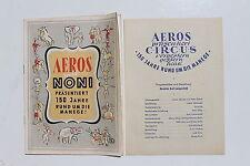 23600 Zirkus Programm Circus AEROS Saison 1976