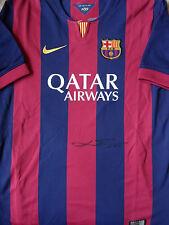 LIONEL MESSI Signed FC BARCELONA Shirt COA