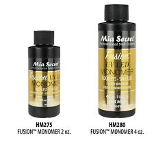Mia Secret FUSION UV-LED Liquid Monomer Odorless-Sin Olor 2oz/ 4oz