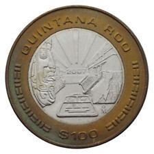 MEXICO $ 100 PESOS BIMETAL BI-METALLIC QUINTANA ROO 2007