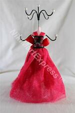"""Oriental Princess Mannequin Jewelry Earring Necklace Stand Display Holder 10.5"""""""