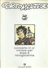 CORTO MALTESE tascabili LIZARD :Concerto in O' minore per arpa e nitroglicerina