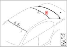 Genuine BMW 7 Series E65 E66 E67 Rear Window Moulding Trim OEM 51318223846