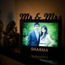 Led Photo Frame Mr And Mrs Unique Gifts For Him And Her Rectangle Shape