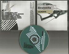 GOURYELLA Ligaya 6TRX EDIT & REMIXES & VIDEO w/ FERRY CORSTEN USA CD Single