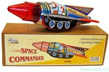 Tin Toy Space Commander Rocket Astronaut Sparkling Action NEW - SALE!