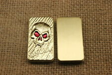 Skull Dragon Carving Electronic USB Charging Windproof Cigarette Lighters